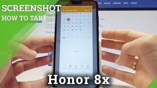 How to Take Screenshot on Honor 8x - Capture Screen / Save Screen Methods