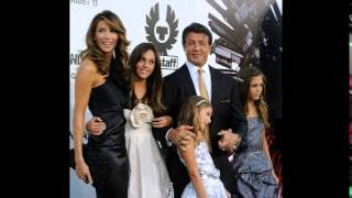 Sylvester Stallone proves his love for his family