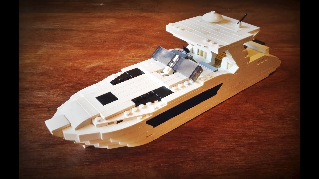 Lego Boat Moc Sea Ray 370 Sundancer Youtube