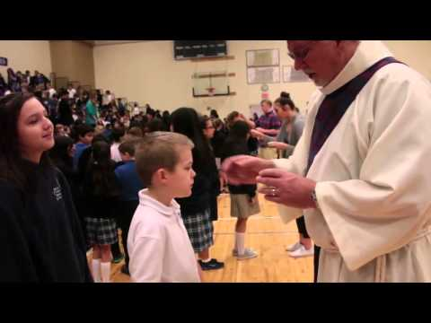 Ash Wednesday Mass at Valley Catholic School