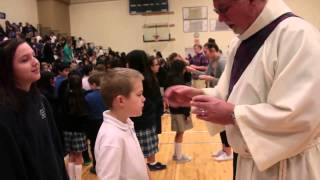 Ash Wednesday Mass at Valley Catholic School