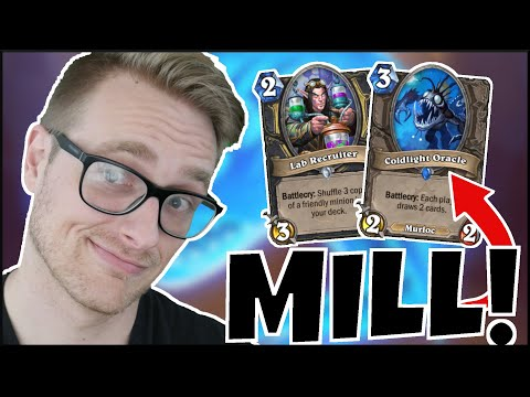 MILL MANIA (DELETE Decks With Fast MILL Rogue) | Descent Of Dragons | Wild Hearthstone