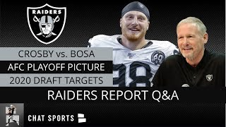Raiders Rumors: Maxx Crosby 4 Sacks DROY, Raiders 2020 NFL Draft Needs After Week 11 Win vs. Bengals