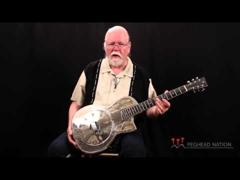R.E. Phillips Large Parlor Resonator Guitar demo from Peghead Nation