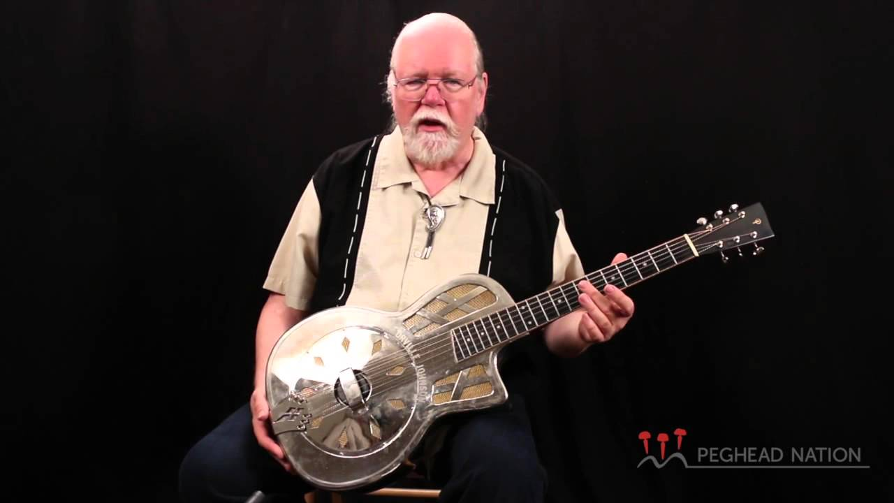 R.E. Phillips Large Parlor Resonator Guitar demo from Peghead Nation - YouTube