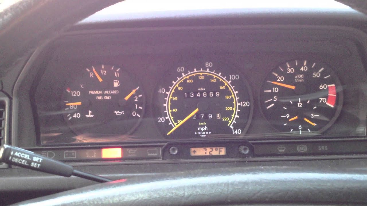 1992 mercedes 190e 2 3l idling after too much seafoam for Mercedes benz ml350 check engine light on