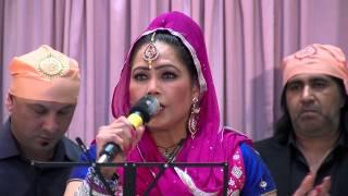 1  SAZIA JUDGE * LIVE PERFORMANCE   Shri Guru Ravidass ji  HD 2015
