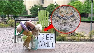 Giving Away $20000 in Free Money (Social Experiment)