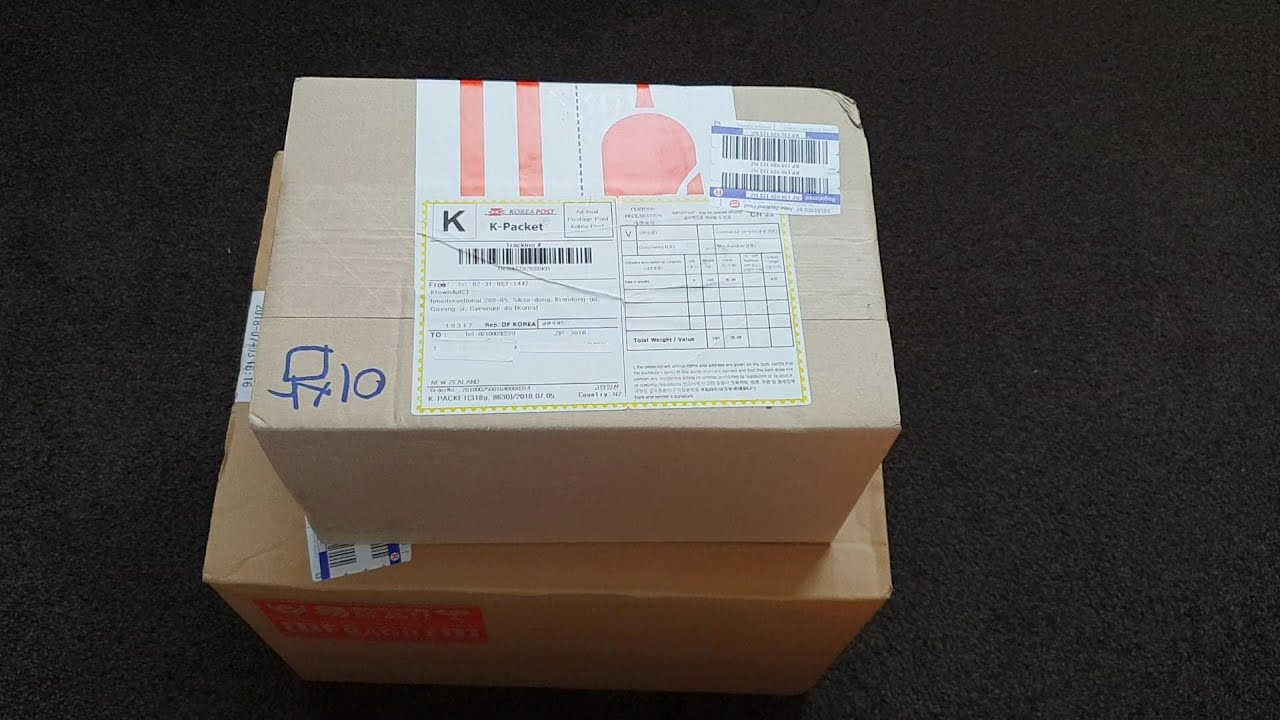 KPOP Haul Unboxing (Lightstick & Lightstick keyring) from ktown4u &  fromjapan