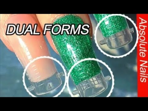 HOW TO USE DUAL FORMS  | ABSOLUTE NAILS
