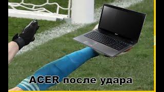 Ремонт ноутбука ACER 7741G после удара.