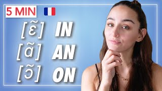 🇫🇷 Learn FRENCH iฑ 5 minutes : How to pronounce NASAL Sounds in FRENCH / French pronunciation