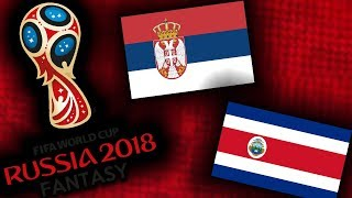 2018 RUSSIA FANTASY VB   COSTA RICA - SZERBIA
