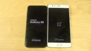 Samsung Galaxy S8 vs. OnePlus 3T Android 7.1.1 - Which Is Faster?