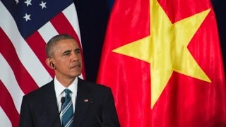 Obama announced end to arms ban with Vietnam