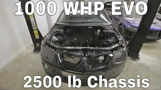 4G64 w/ Kia Head - 1000HP MOTOR REVEAL AND INSTALL! - 1000WHP F&S Motorsports Evo Build - Ep.2