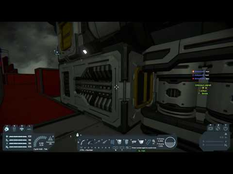 Space Engineer's Modded Live Stream - S01E02 - Little Base Tidy
