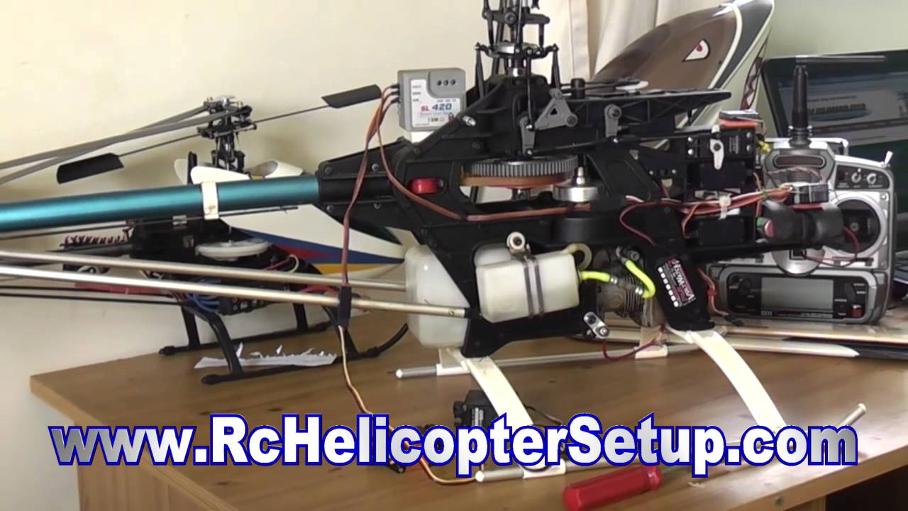 how to setup heli to hold throttle