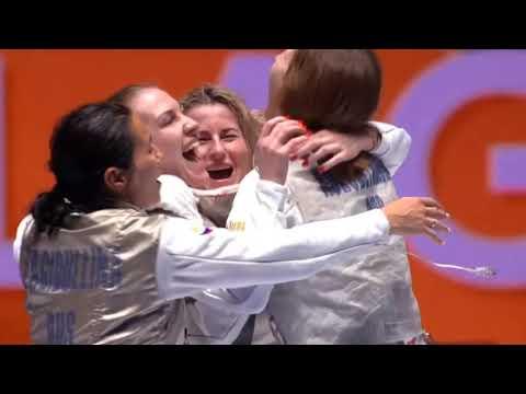 Сборная России - победитель чемпионата мира по фехтованию 2019