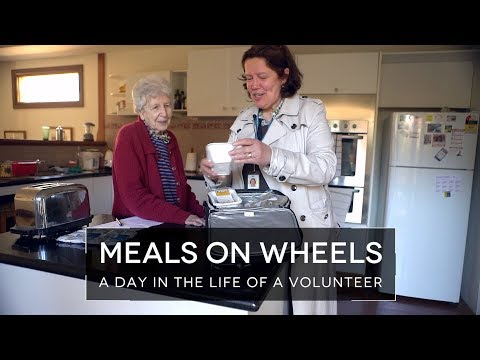 Meals On Wheels - A Day In The Life Of A Volunteer