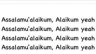Video Salam alaikom by harris j lyrics download MP3, 3GP, MP4, WEBM, AVI, FLV Desember 2017