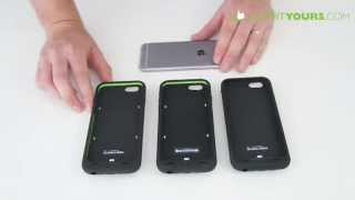 mophie juice pack iPhone 6 Cases Review - ultra, plus, air - Battery Cases