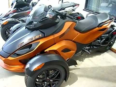 2011 CAN-AM Spyder RS-S SM5 - YouTube