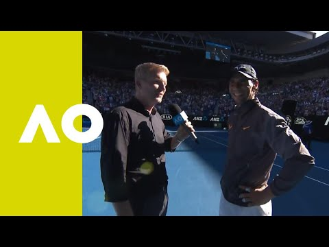 Rafael Nadal on-court interview (4R) | Australian Open 2019 Mp3