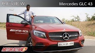 Mercedes AMG GLC 43 Review Super fast | Hindi | MotorOctane