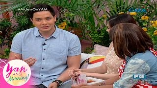 Yan Ang Morning!: Love advice from Alden Richards
