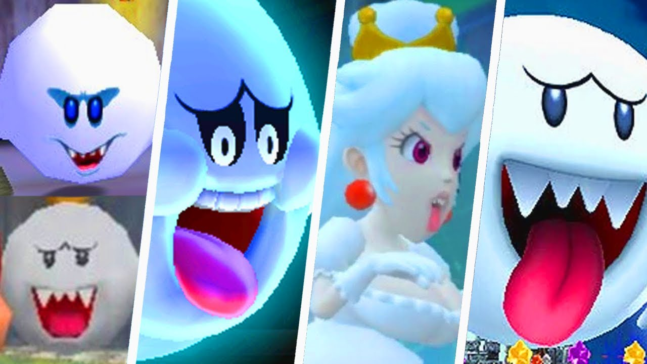 Evolution Of Big Boo In Super Mario Games 1990 2019 Youtube