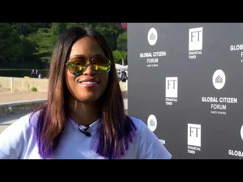 Eve Interview at Global Citizen Forum 2017 - Full length edit