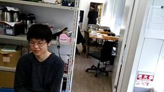日本囲碁リーグ第1節控室1