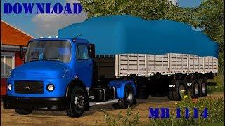 Download | Mercedes Benz 1114 | Euro Truck Simulator 2 | Kaku Peralta