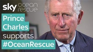 Prince Charles supports #OceanRescue