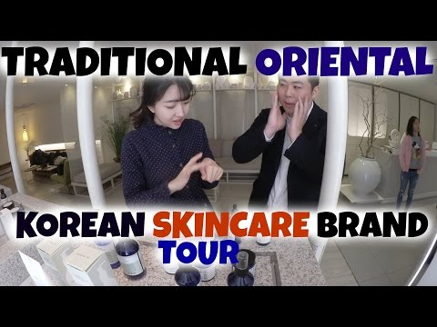 Korean Traditional Skincare Tour & FIRST IMPRESSION  Ft. Pyunggayul