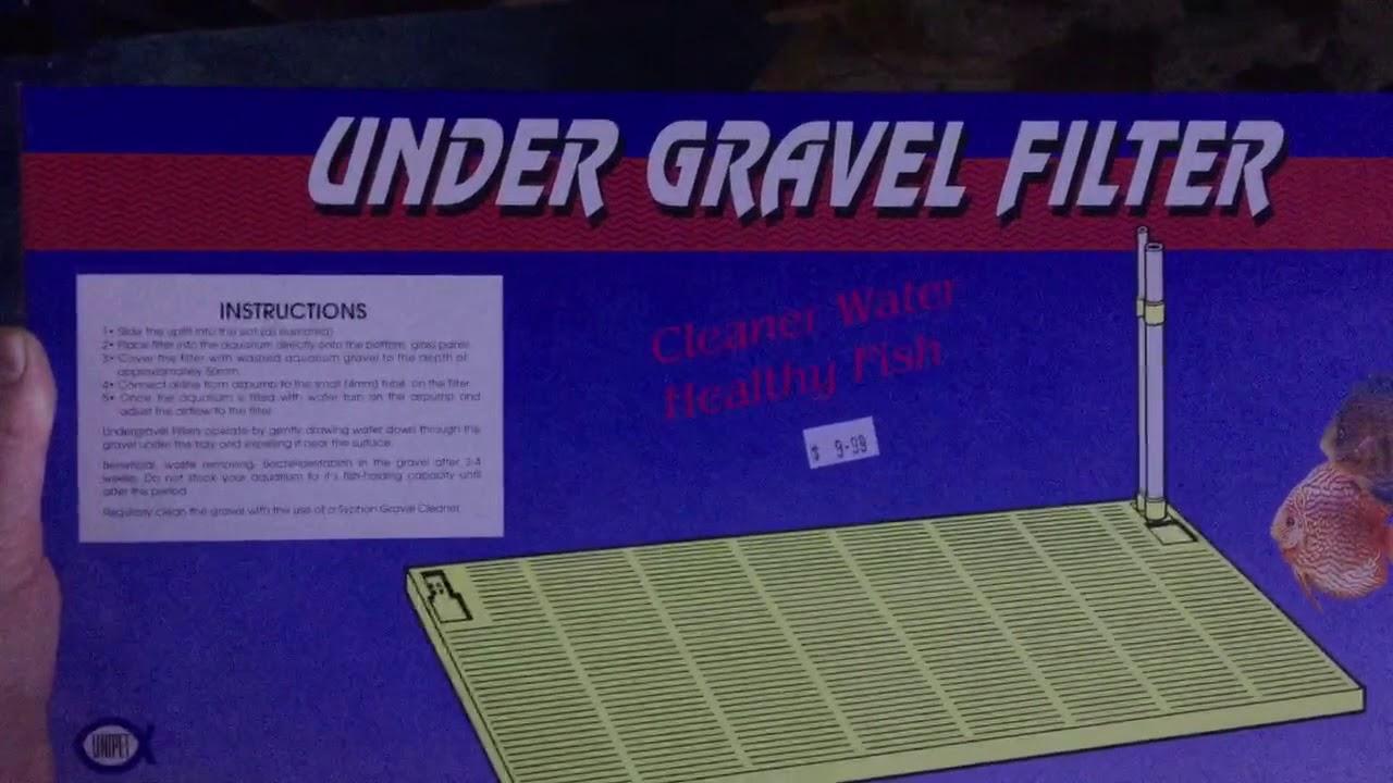 reverse flow under gravel filters [ 1280 x 720 Pixel ]