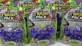 Rotten Eggs Trash Pack Series 6 Big Opening Unboxing Toy Review Trashies