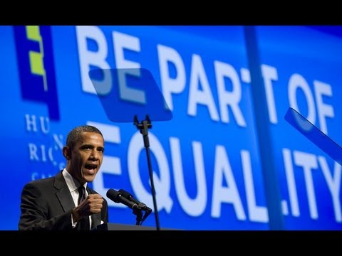 Obama Speaks out About Equality, Gay Marriage & Religion