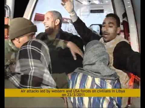 Crusader bombing in Libya kills civilians