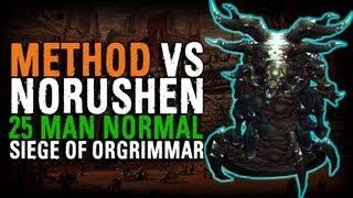 Method vs Norushen (25 Normal)