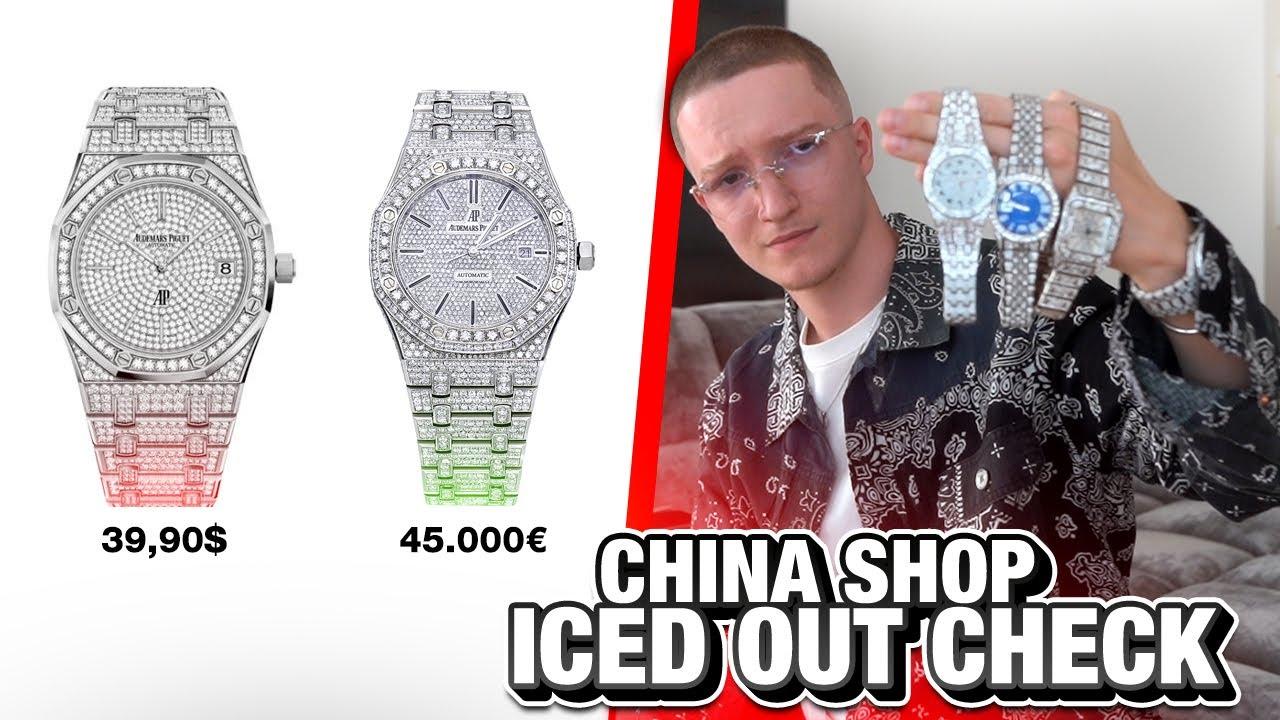 Ich habe 3 FAKE Iced Out Uhren bestellt.. (Vergleichstest)