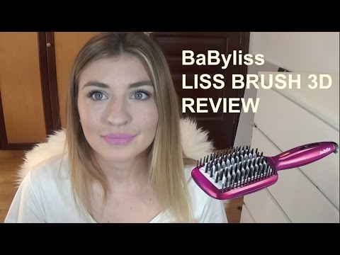 babyliss liss brush 3d first impression review youtube. Black Bedroom Furniture Sets. Home Design Ideas