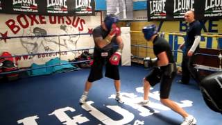 Boxe, Sparring ignorante