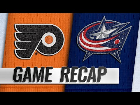 - Blue Jackets Strom Past Flyers