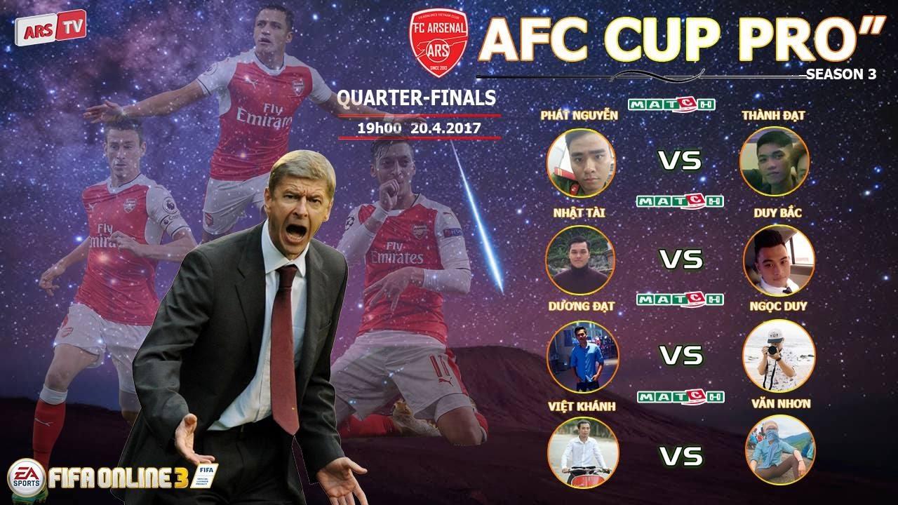 """[FIFA ONLINE 3] AFC CUP PRO"""" SEASON 3: QUARTER-FINALS"""