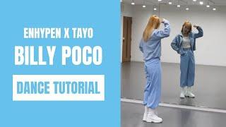 [DANCE TUTORIAL]ENHYPEN X TAYO - BILLY POCO|short cover dance