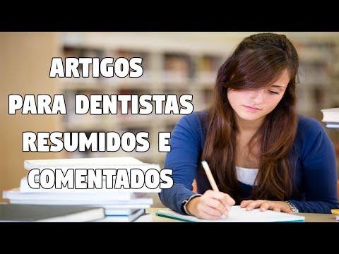 Видео Artigos odontologia