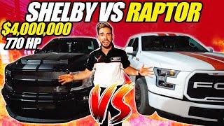 ARRANCONES EN CULIACAN DE CAMIONETAS 🔥 SHELBY VS RAPTOR VS F150 😱