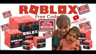OPENING ROBLOX TOY SERIES 6 / ROBLOX MEETCITY GAME / BLIND BOXES UNBOXING